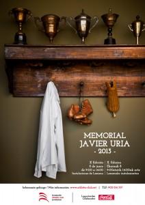 Poster Memorial Javier Uria 2013