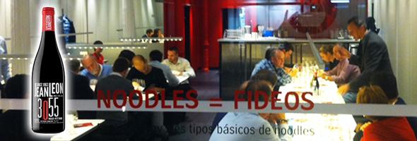 Cata de vinos Jean Leon en Udon Bilbao