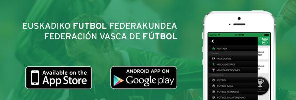 App de la Federación Vasca de Fútbol