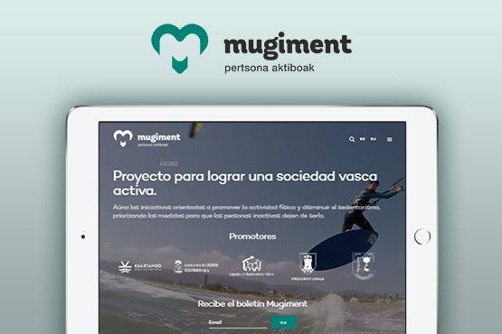 Nuevo portal web para el proyecto Mugiment