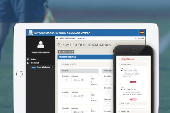 Rediseño de la intranet del Comité de Árbitros de Gipuzkoa