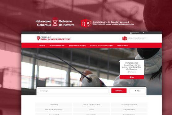 Censo de instalaciones deportivas de Navarra