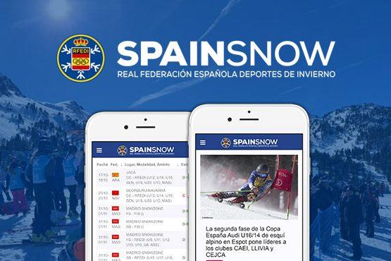 Nuevos desarrollos y evolución de la plataforma digital de la Real Federación Español de Deportes de Invierno